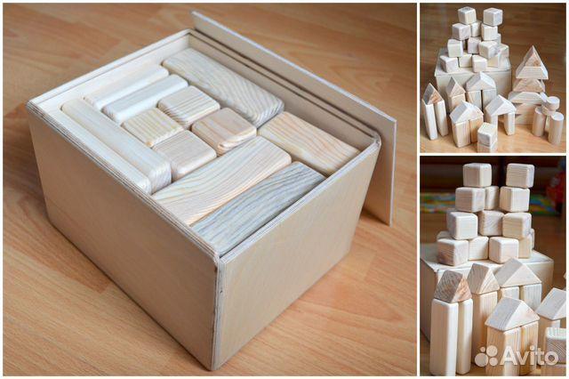 Как сделать деревянные кубики для детей