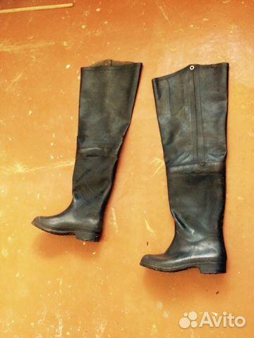 Резиновая обувь ПВХ - купить рыбацкие сапоги