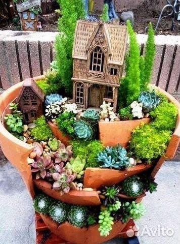 Как сделать сад с цветами