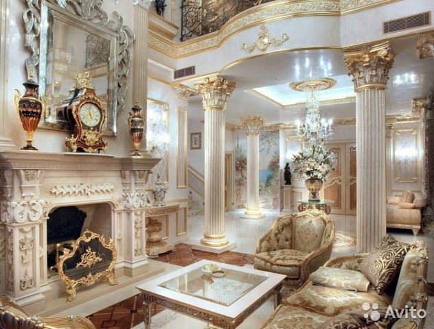 Лепные декоры в интерьере
