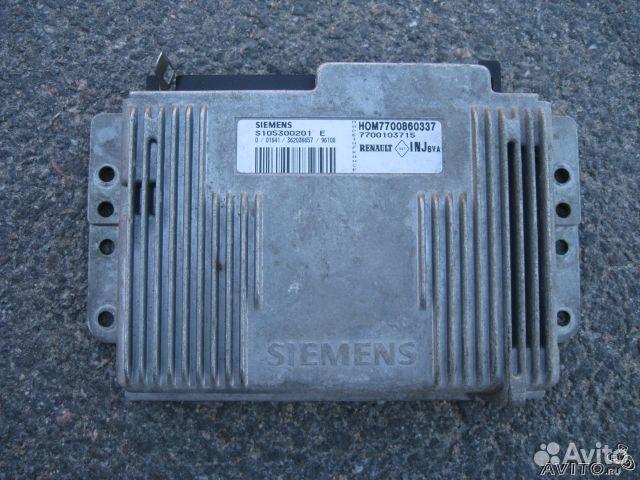 Купить блок управления двигателем (эбу)на renault с доставкой в каменск-уральский
