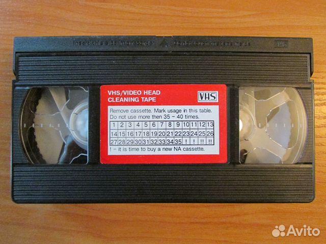 Чистящая видеокассета VHS 89108155135 купить 1