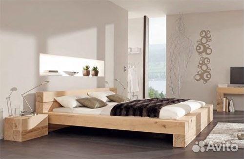 Кровать с бруса своими руками