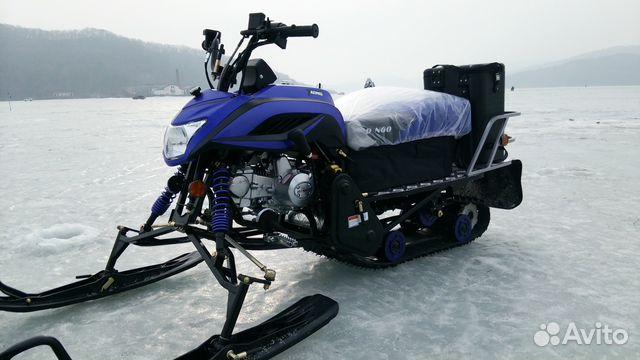 Как лучше сделать снегоход