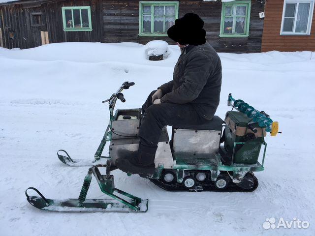 Самоделки в домашних условиях снегоходы