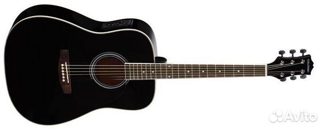 фото гитара черная