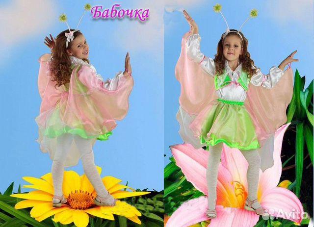 Как сшить костюм бабочки для девочки своими руками