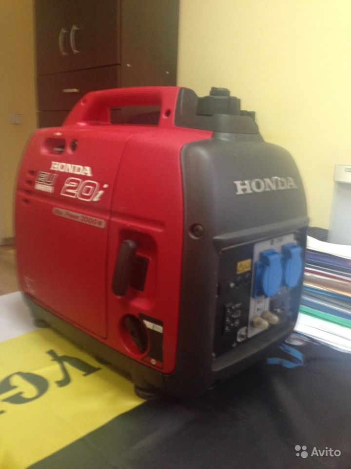 Бензиновый генератор honda eu20i цена honda