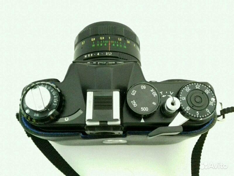 Выдержка на фотоаппарате зенит