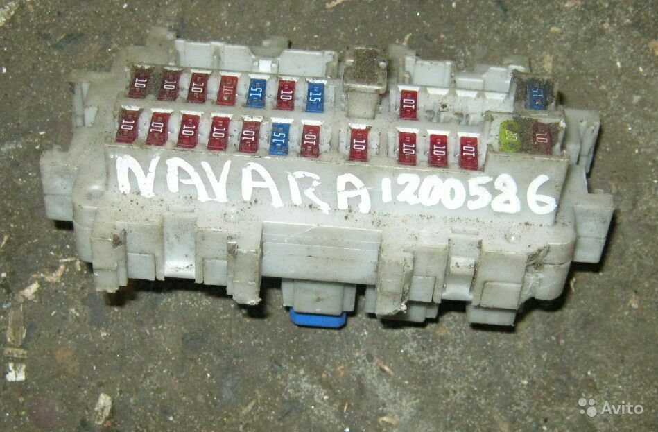 Блок предохранителей Navara