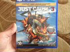 Продам диск на PS4 just cause3