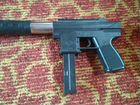 Игрушечный пистолет- пулемёт с пульками