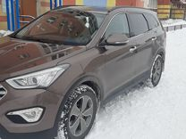 Hyundai Santa Fe 2.2AT, 2015, 97800км