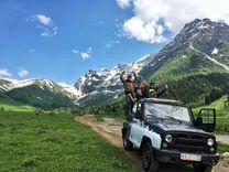 Экскурсия на джипах и внедорожниках в Архыз