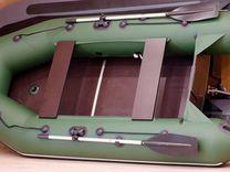 Лодка пвх Аква 3200 слань-книжка киль