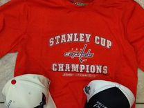 Футболка NHL Washington Capitals новая.Оригинал — Одежда, обувь, аксессуары в Санкт-Петербурге