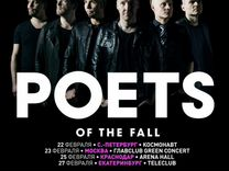 Билеты на концерт Poets of the Fall. Москва. Главc