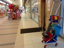 Уборка торговых центров, магазинов