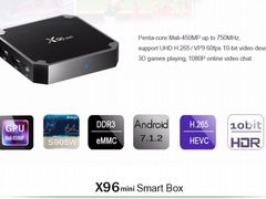 Smart TV Box Android 7 - (2DDR3)