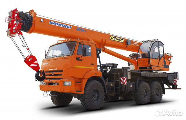 Автокран Клинцы кс-55713-5К-4, 25т, 31м в наличии 83472855030 купить 1