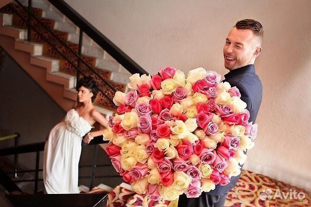 Купить розу в москве