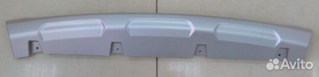 Юбка переднего бампера ларгус