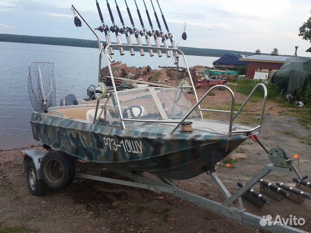 прицеп на лодки ока-4