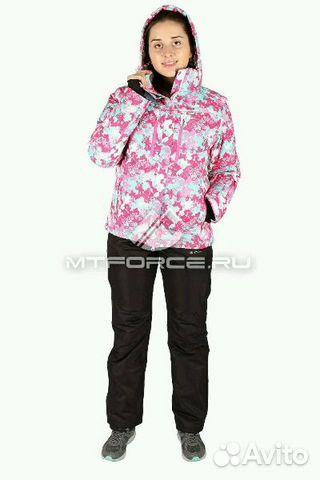 Теплый горнолыжный костюм женский с доставкой