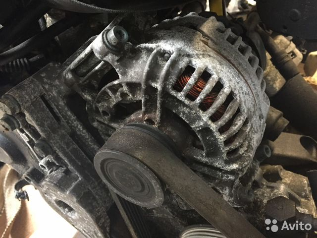 генератор 120a 18t Avj 06b903016p Audi A4 B6 Festimaru