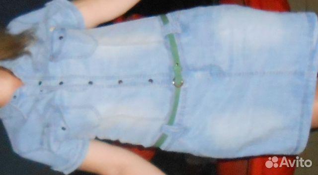Джинсовое платье авито