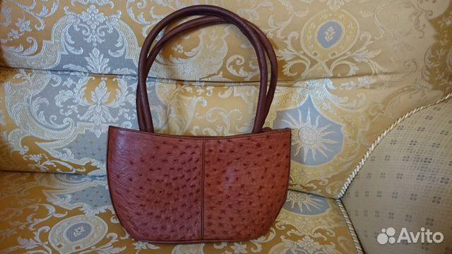 0f3233bca68d Женская сумка из натуральной кожи страуса купить в Ставропольском ...