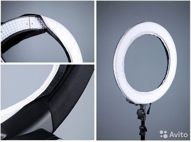 Световое кольцо для визажиста
