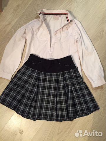7284d047097 Школьная форма для девочки (юбка и блузка) купить в Свердловской ...