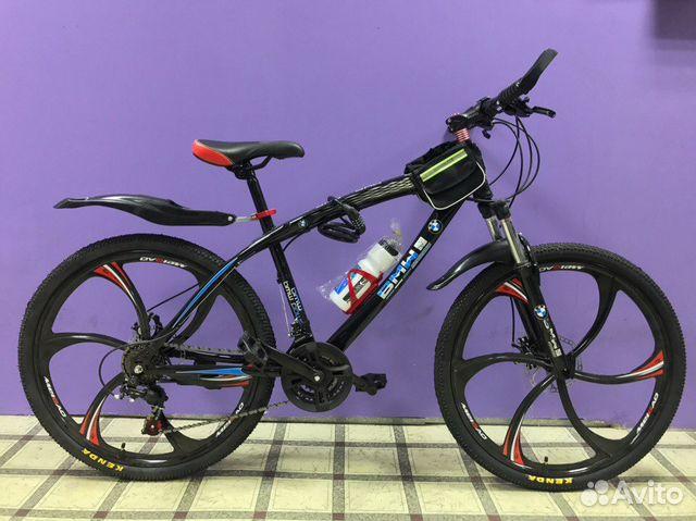 велосипед bmw задняя втулка