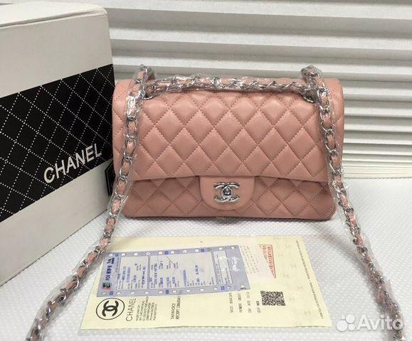 9b28aa41cb22 Сумки Chanel 2.55 Flap Клатч Шанель Кожа Беж Пудра | Festima.Ru ...