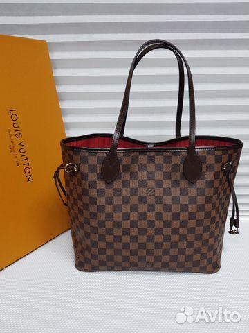 2042e93e4bf6 LV Louis Vuitton Сумка Neverfull Луи Витон Шоппер купить в Москве на ...