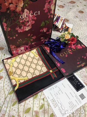 0fbd05d46328 Платки Gucci 100x100см шелк | Festima.Ru - Мониторинг объявлений