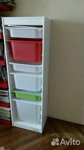 стеллаж для хранения детский Ikea Festimaru мониторинг объявлений