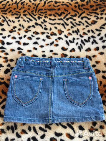 Юбка джинсовая 89107612232 купить 2