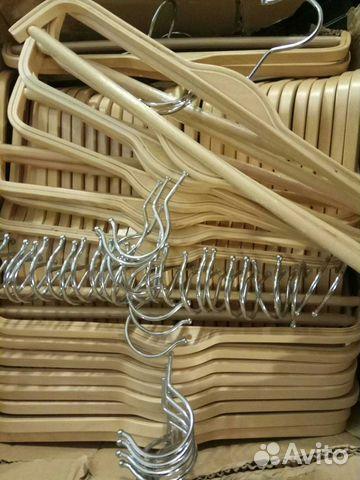 Новые деревянные плечики вешалки 89502092284 купить 5