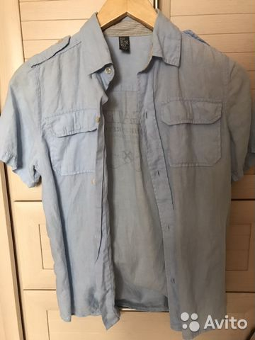b8f823e0852 Рубашка лён Zara