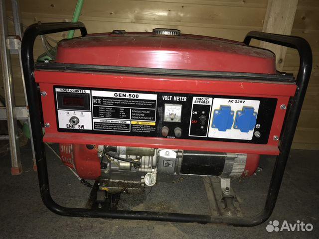 Генератор бензиновый 500 инверторный бензиновый генератор honda