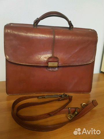 050557b4a571 Кожаный кейс для ноутбука/мужской портфель Texier купить в Москве на ...