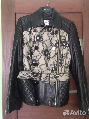 Куртка кожаная 89501330627 купить 2