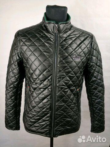 698081c864fb Стёганая куртка Gucci- Black купить в Москве на Avito — Объявления ...