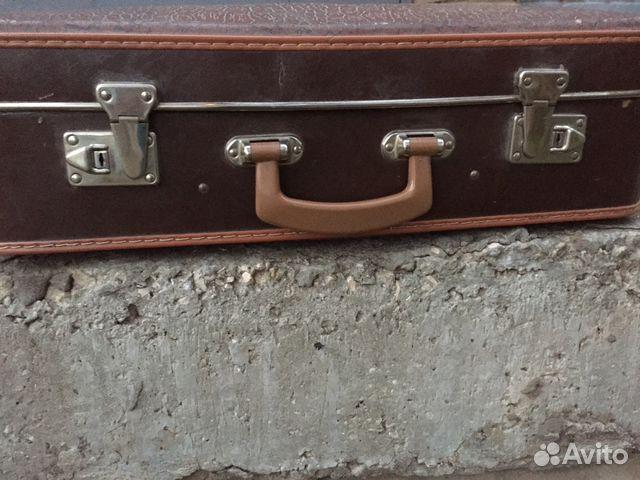 640b40a94354 Кожаный чемодан большой СССР винтаж Польша   Festima.Ru - Мониторинг ...