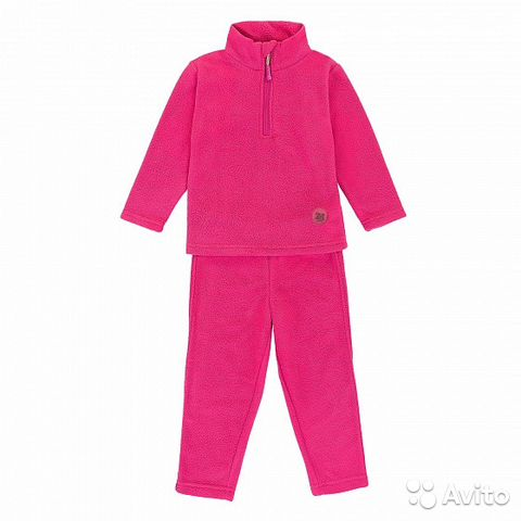Set fleece pink and blue (new)