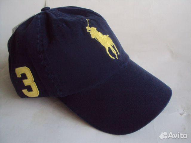 Бейсболка кепка Polo Ralph Lauren BIG pony купить в Москве на Avito ... e10243b871531