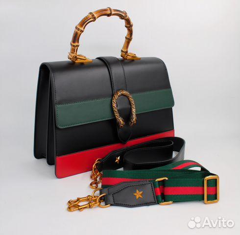422ac14a84c6 Кожаная женская сумка Gucci Dionysus купить в Москве на Avito ...