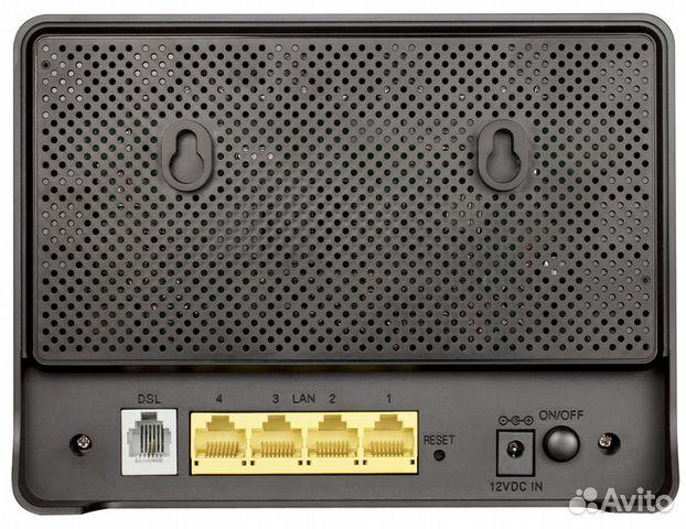 Adsl2+Wi-Fi роутер D-link DSL-2640U